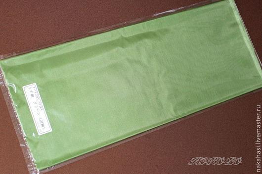 Ткань для цветов ручной работы. Ярмарка Мастеров - ручная работа. Купить Усукиню оливкового цвета. Арт. 000955. Handmade. Оливковый