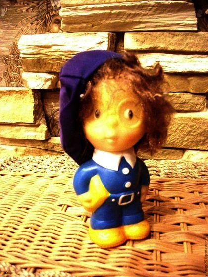 Винтажные куклы и игрушки. Ярмарка Мастеров - ручная работа. Купить Винтаж Редкая Игрушка Знайка. Handmade. Комбинированный, винтажная игрушка