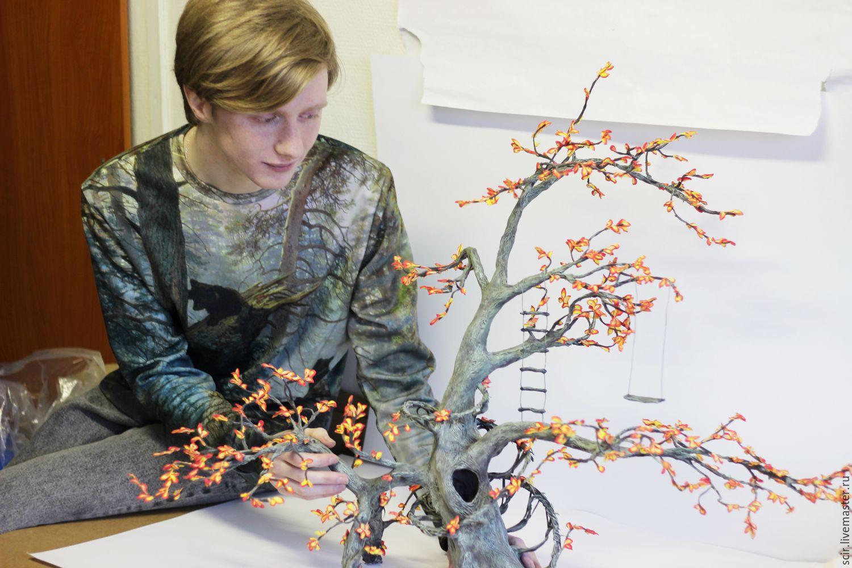 образец осеннего дерева