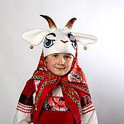 Работы для детей, ручной работы. Ярмарка Мастеров - ручная работа Коза (костюм театральный, карнавальный). Handmade.