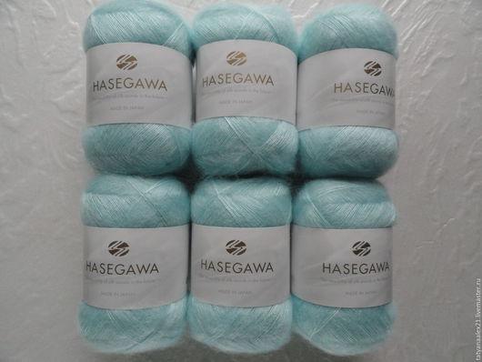 Вязание ручной работы. Ярмарка Мастеров - ручная работа. Купить Пряжа Hasegawa Seika №  28 BLUE LIGHT. Handmade.