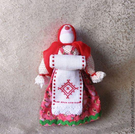 """Народные куклы ручной работы. Ярмарка Мастеров - ручная работа. Купить Кукла-оберег """"Материнство"""". Handmade. Розовый, народная кукла"""