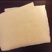 Аксессуары ручной работы. Ярмарка Мастеров - ручная работа Снуд-шарф белый. Handmade.