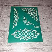 Материалы для творчества handmade. Livemaster - original item 6561 adhesive-based Stencil reusable. Handmade.