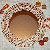 """Для дома и интерьера ручной работы. Ярмарка Мастеров - ручная работа Зеркало для ванной с мозаикой - """"кусочки хорошего настроения"""". Handmade."""