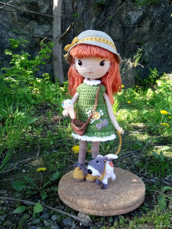 Doll knitted on a frame, Dolls, Godsend,  Фото №1