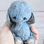 Куклы и игрушки ручной работы. Ярмарка Мастеров - ручная работа Слоник тедди ЯШЕНЬКА   Тедди слон. Handmade.