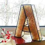 """Для дома и интерьера ручной работы. Ярмарка Мастеров - ручная работа Буква """"А"""". Handmade."""