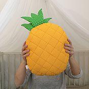 Для дома и интерьера ручной работы. Ярмарка Мастеров - ручная работа Подушка ананас. Handmade.