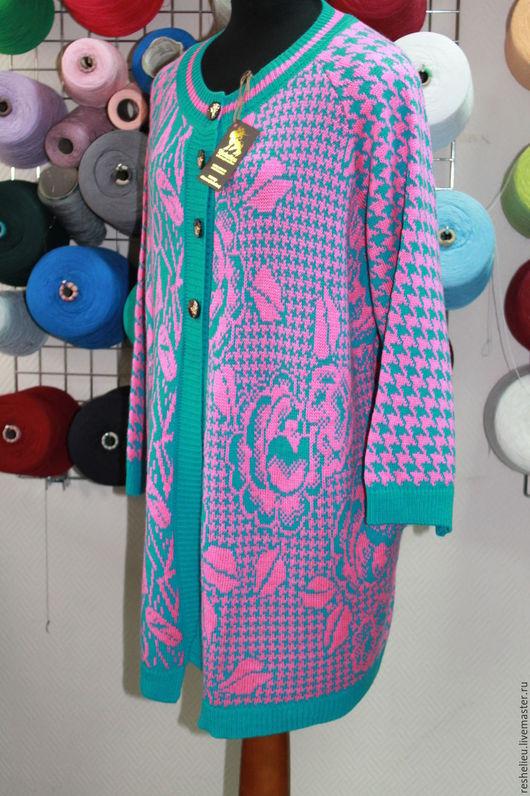 Кофты и свитера ручной работы. Ярмарка Мастеров - ручная работа. Купить Кардиган вязаный №54 из 30% итальянской шерсти. Handmade.