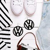 Украшения ручной работы. Ярмарка Мастеров - ручная работа Серьги VW. Handmade.