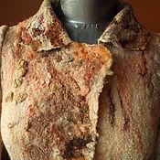 Одежда ручной работы. Ярмарка Мастеров - ручная работа Жакет валяный..ЖАКЛИН.. Handmade.