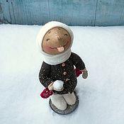 Куклы и игрушки ручной работы. Ярмарка Мастеров - ручная работа Первый снег. Handmade.