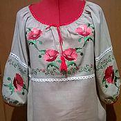 Одежда handmade. Livemaster - original item Women`s embroidery ZhR2-034. Handmade.