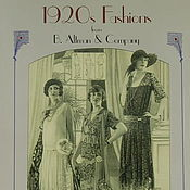 Материалы для творчества ручной работы. Ярмарка Мастеров - ручная работа Книга 1920s Fashions from B. Altman & Company Catalogue. Handmade.