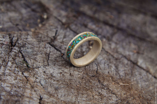 Кольца ручной работы. Ярмарка Мастеров - ручная работа. Купить Деревянное кольцо. Handmade. Кольцо из дерева, кольца