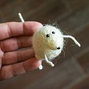 Игрушки ручной работы. Ярмарка Мастеров - ручная работа Мышь интерьерная Крыса Символ года Новогодняя игрушка Подарок 2020 год. Handmade.