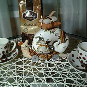 Куклы и игрушки ручной работы. Ярмарка Мастеров - ручная работа Мои кофейные тильды-улиточки.. Handmade.