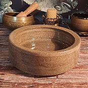 handmade. Livemaster - original item Large clay candle holder (green granite). Handmade.