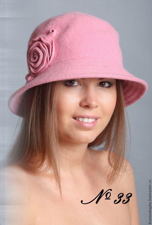 Шляпы ручной работы. Ярмарка Мастеров - ручная работа. Купить Женская шляпка НЕЖНОСТЬ. Handmade. Розовый, женская