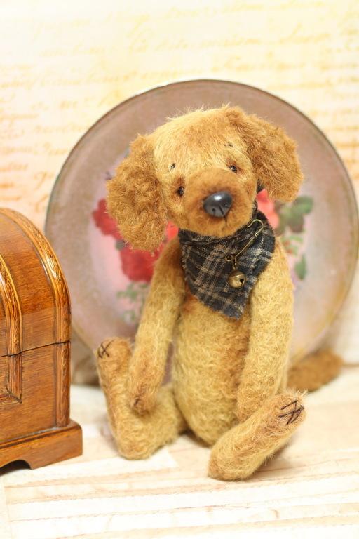 Игрушки животные, ручной работы. Ярмарка Мастеров - ручная работа. Купить Пёс Тедди Филя 28 см. Handmade. Тедди