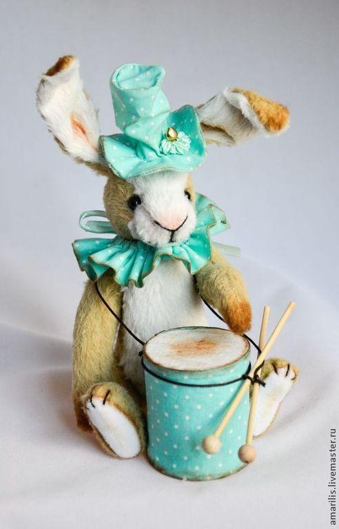Куклы Тильды ручной работы. Ярмарка Мастеров - ручная работа. Купить Артист цирка заяц Бом. Handmade. тедди