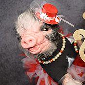Куклы и игрушки ручной работы. Ярмарка Мастеров - ручная работа Свинка реборн Фарм,Мадам.. Handmade.