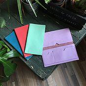 Сумки и аксессуары handmade. Livemaster - original item Holder travel for documents made of genuine leather. Handmade.