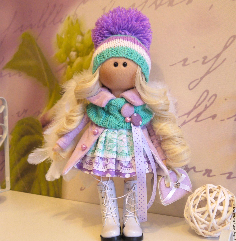 Текстильная куколка-малышка Лола, Куклы и пупсы, Санкт-Петербург,  Фото №1