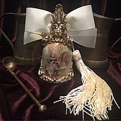 Подарки ручной работы. Ярмарка Мастеров - ручная работа Керамический колокольчик в винтажном стиле. Handmade.