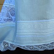 "Одежда handmade. Livemaster - original item Linen author dress "" Christmas"". Handmade."