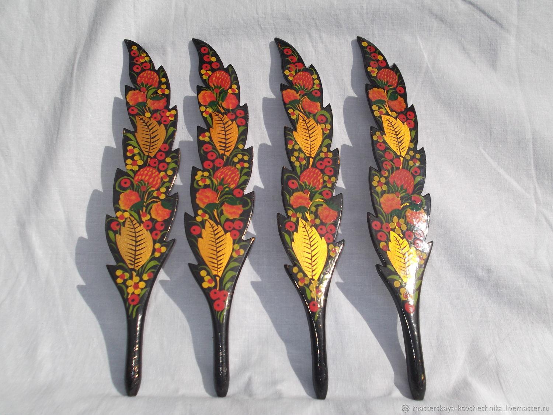 Сувениры: ручка перо, Народные украшения, Семенов,  Фото №1
