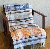 Для дома и интерьера ручной работы. Ярмарка Мастеров - ручная работа Тканая накидка на кресло. Handmade.