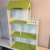 Кукольные домики ручной работы. Ярмарка Мастеров - ручная работа Дом для кукол (комбинированный цвет). Handmade.