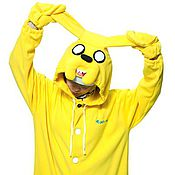Субкультуры handmade. Livemaster - original item Jake Adventure time Kigurumi - Custom Handmade - Anti-pill Fleece. Handmade.