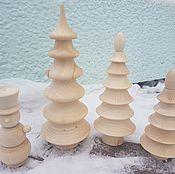 Мягкие игрушки ручной работы. Ярмарка Мастеров - ручная работа Елочки-пирамидки и снеговик. Handmade.