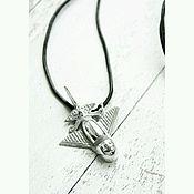 Украшения handmade. Livemaster - original item Silver pendant of the COLOMBIAN PLANE. Handmade.