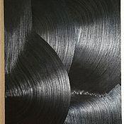 Картины и панно handmade. Livemaster - original item Picture Of The Black Series No. №12. Handmade.