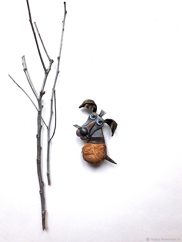 Брошь. Пес Гоша. Ищу дом, Брошь-булавка, Владивосток,  Фото №1