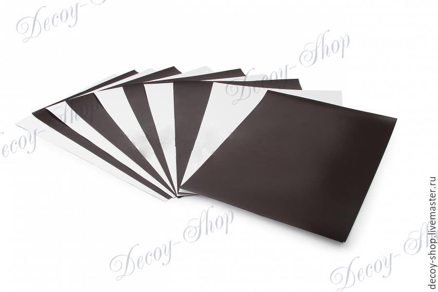 Magnetic PHOTO paper A4 (glossy), Scrapbooking paper, Serpukhov,  Фото №1