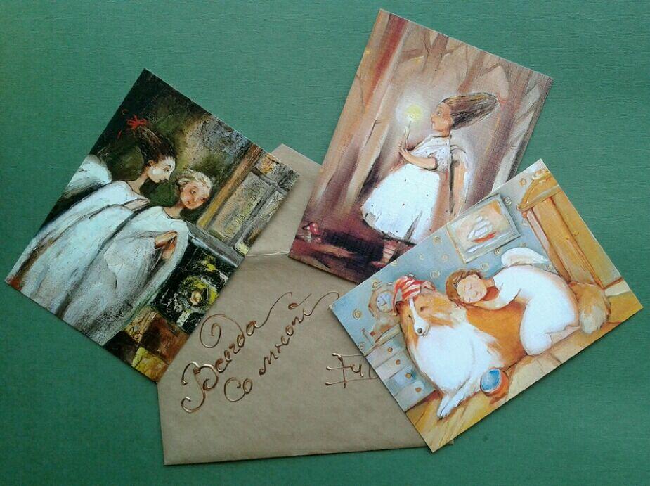 Марта, набор открыток на заказ