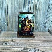"""Канцелярские товары ручной работы. Ярмарка Мастеров - ручная работа Карандашница """"Старый замок"""". Handmade."""