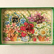 """Винтаж ручной работы. Ярмарка Мастеров - ручная работа Броши """"Цветы"""", сет-трансформер от Joan Rivers. Handmade."""