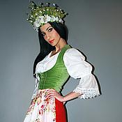 Одежда ручной работы. Ярмарка Мастеров - ручная работа Женский костюм в этно-стиле «Лесная нимфа». Handmade.