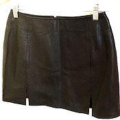 Одежда handmade. Livemaster - original item Skirt made of genuine leather. Handmade.