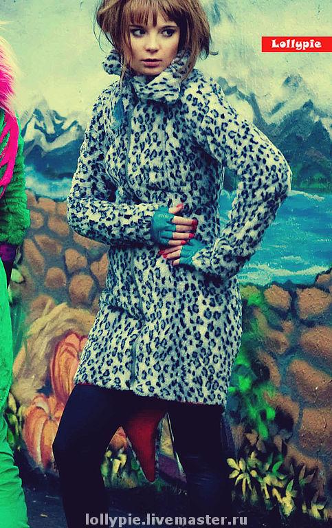 Coat Blue Leo, Fur Coats, Moscow,  Фото №1