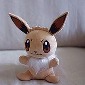 Куклы и игрушки handmade. Livemaster - original item Soft toy Evie (Eevee Pokemon) Pokemon. Handmade.