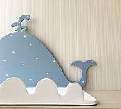 Для дома и интерьера ручной работы. Ярмарка Мастеров - ручная работа Полочки для детской комнаты. Handmade.