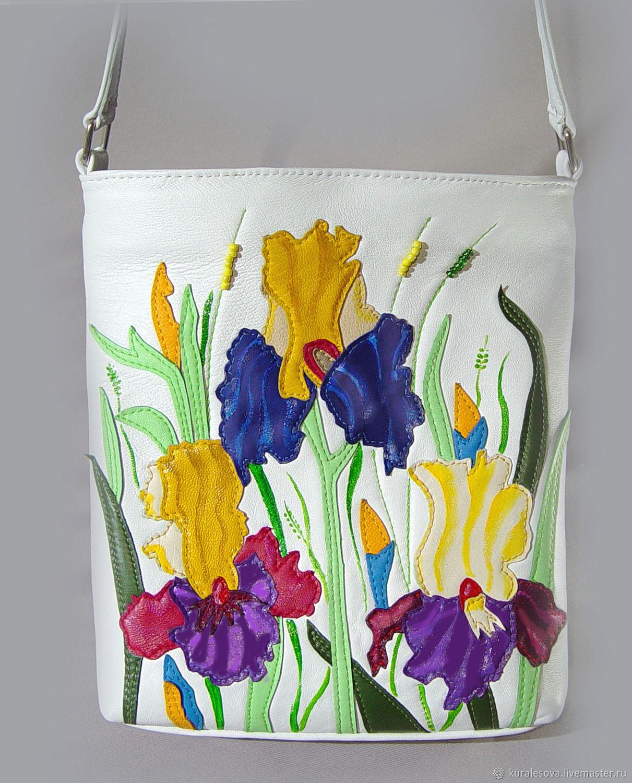 Handbags handmade. Livemaster - handmade. Buy Handbag crossbody ' Flower mood'.Hand made, handbags, author bag