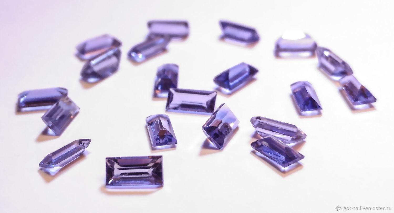 Iolite 4h2 mm. 0,10 CT. IF-VVS1, Minerals, Yoshkar-Ola,  Фото №1